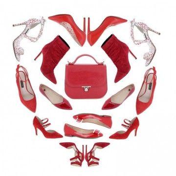 Be my Valentine - Kako kombinovati crvene cipele?