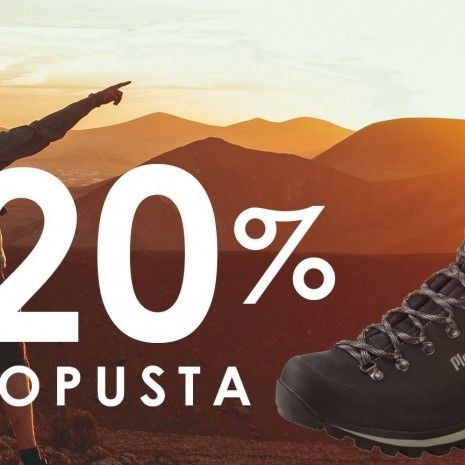 Planika trekking: -20 % popusta na cjelokupnu ponudu