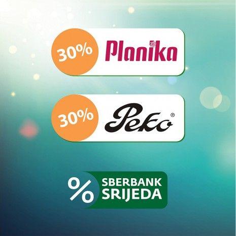 Planika & Sberbank srijeda: -30 % popusta na novu kolekciju