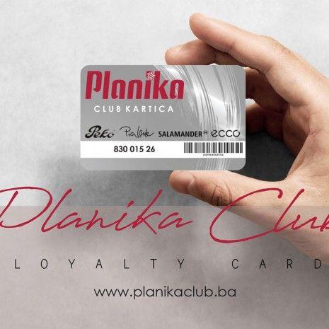 PLANIKA CLUB KARTICA: Uštedite pri kupovini u našim prodavnicama i do 35%