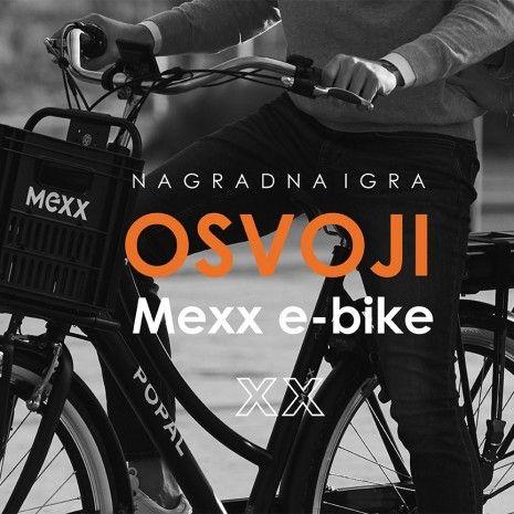 Velika nagradna igra: Osvoji Mexx e-bike