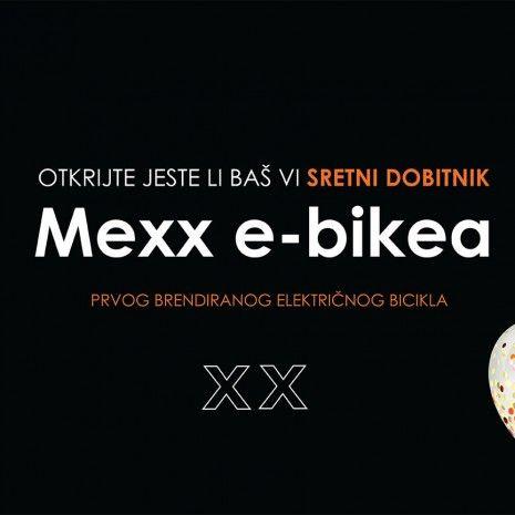 Otkrivamo dobitnike nagradne igre: Osvoji Mexx e-bike